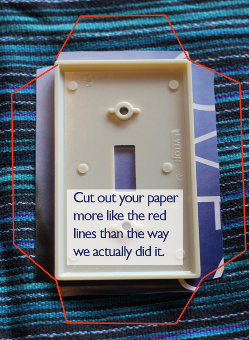 tutorial tuesday  diy light switch covers