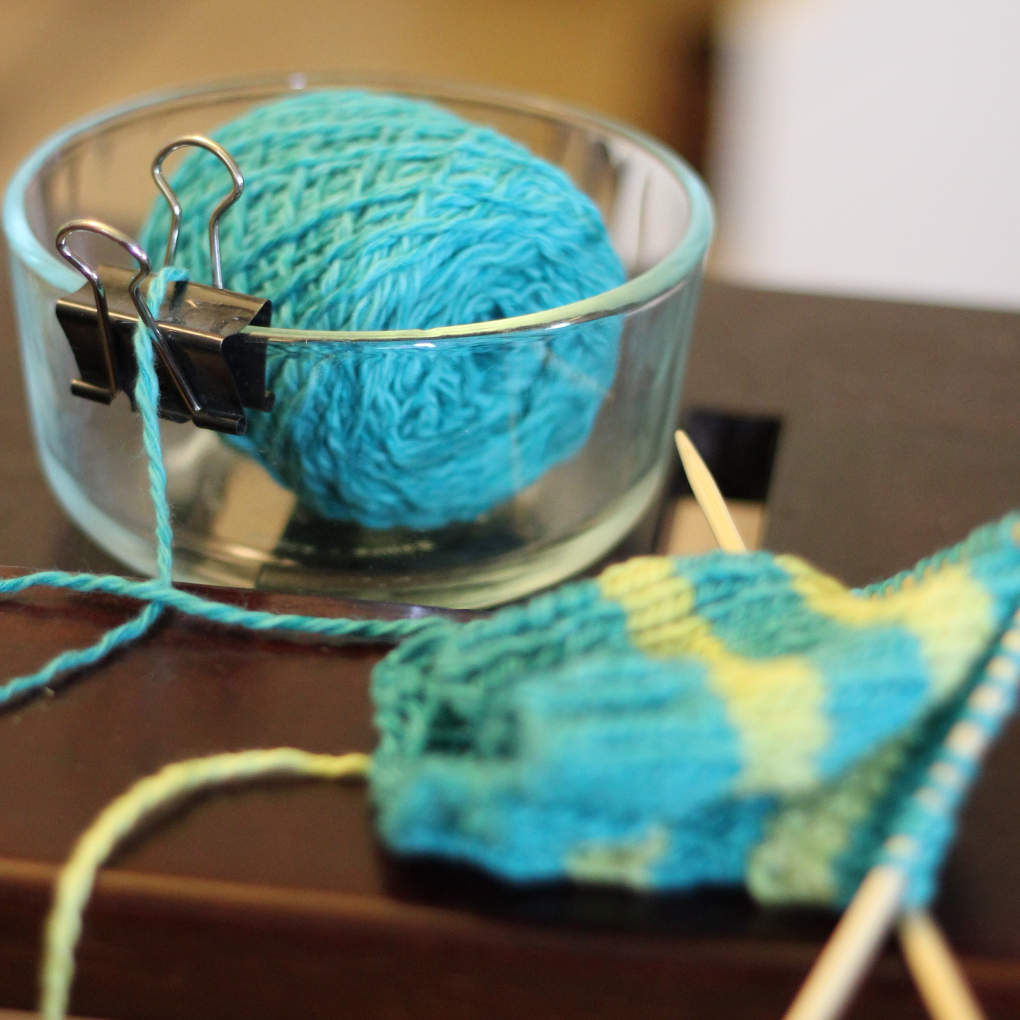 knitting how to add outside pocket