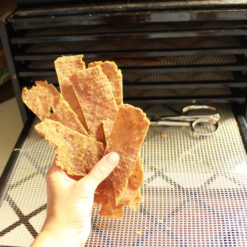 Homemade jerky using ground meat