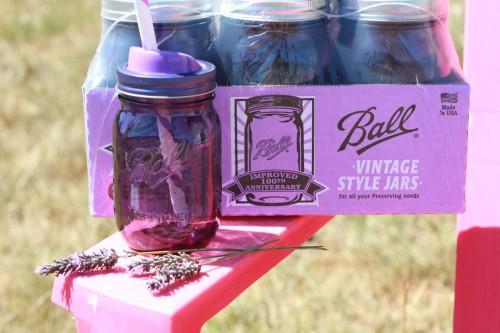 100th Annivesary Purple Ball Jars